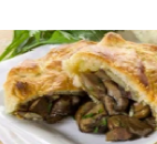 Portobello Mushroom Strudel  (vegetarian)